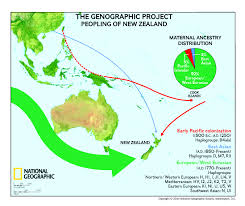 Haplogroup World Map by The Genographic Project Unveils The Ancient Ancestry Of New