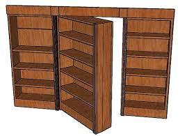 Build A Bookshelf Easy Bookcase Make Sliding Bookcase Hidden Door Sliding Bookcase