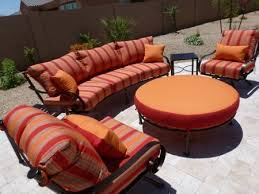 Best Iron Patio Furniture Crafted In Phoenix Arizona Images - Round outdoor sofa 2