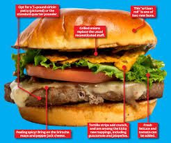 mcdonald u0027s new gourmet burger is actually really good new york post