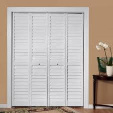 Louvered Closet Doors Interior Home Fashion Technologies 36 In X 80 In 3 In Louver Louver
