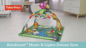 fisher price rainforest music and lights deluxe gym playset fisher price rainforest music lights deluxe gym