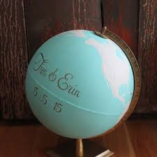 themed guest book wedding globe guest book guest book from helen handmade