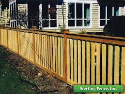 wood picket fence wooden fencing minneapolis mn contractor