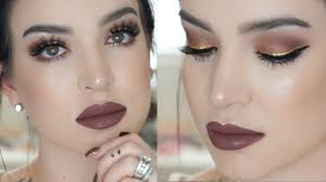 Power And Light New Years Eve Rose Gold New Years Eve Makeup Tutorial Youtube
