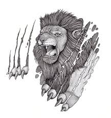 23 best tribal lion body tattoos images on pinterest draw bed