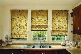 cool blinds or beautiful curtains for your kitchen home