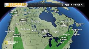 World Map Rainfall by News Updated The Next 2 Months Of Summer Weather In Canada