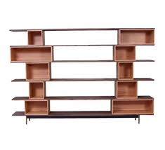 Beech Bookshelves by Box Shelving Unit Fsc Certified Solid American Walnut Shelves