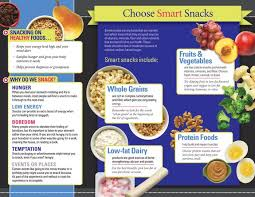 snacking tri fold brochures