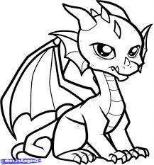 easy drawing dragons drawings easy dragons pencil sketch
