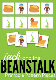 and the beanstalk printable pattern pieces from abcs to acts