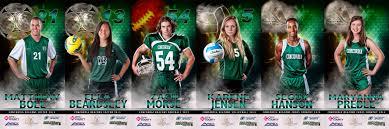 high school senior sports banners sports teams grupa portrait studio