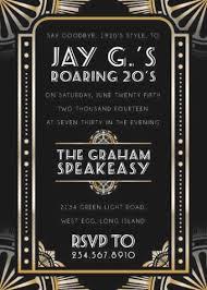 100 great gatsby invite template wedding invitation