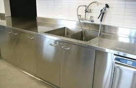 used stainless steel commercial kitchen cabinets wall sink cabinet