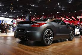 peugeot rcz r some like it new peugeot rcz r study with 260hp debuts in paris