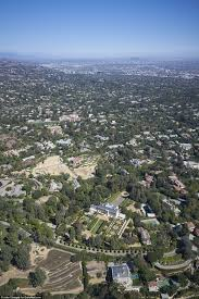 Beverly Hillbillies Mansion Floor Plan by Jerry Perenchio U0027s Bel Air Estate On Sale For 350million Daily