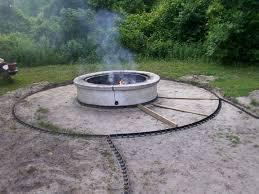Paver Patio Ideas by Concrete Patio Ideas With Fire Pit Brick Paver Base Patio Ideas