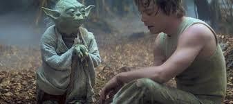 Strangely Yoda Speaks