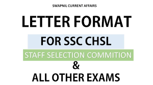 ssc chsl descriptive paper sample letter format and most expected