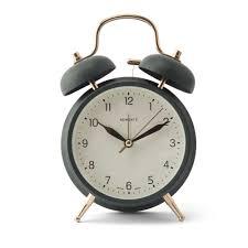 newgate brass knocker alarm clock velvet green bespoke post