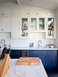 meuble cuisine bleu best meuble cuisine peint en bleu ideas design trends 2017