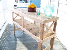 Kitchen Sideboard Table by Pallet Table Pallet Buffet And Kitchen Island 99 Pallets