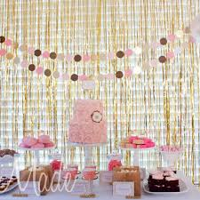Gold Curtain Gold Curtain Backdrop U2013 The Wedding Of My Dreams