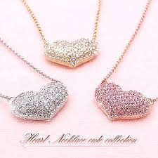 girl heart necklace images Accessoryshopbarzaz rakuten global market necklaces ladies jpg