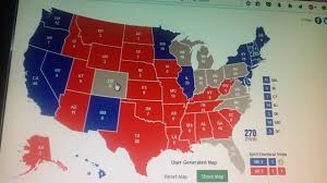 National Election Results Map by 2016 Presidential Election Electoral Map Prediction Youtube