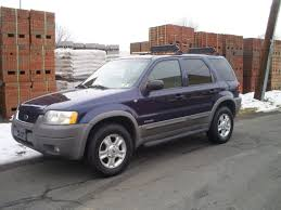 Ford Escape Blue - 2002 ford escape information and photos zombiedrive