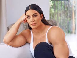 Kim Meme - gym kardashian kim kardashian has muscular arms in a new meme