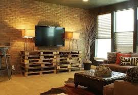 mit paletten wohnideen wohnwand selber bauen anleitung ideen edgetags info