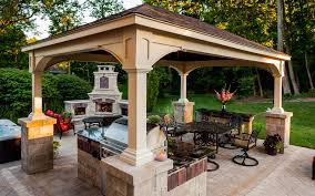 Covered Gazebos For Patios Pergola Covered Structure Or Pavilion How To Know Which Is Right