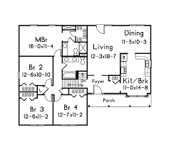 split entry home plans 4 bedroom split entry house plans home act