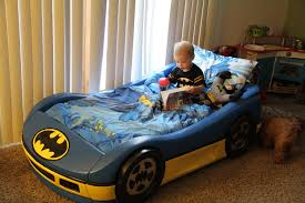 Blue Car Bed Batman Car Beds For Toddlers With Plastic Frame Plus Blue And