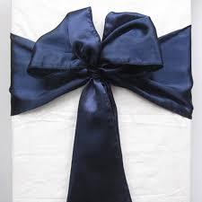 navy blue chair sashes blue chair sash promotion shop for promotional blue chair sash on