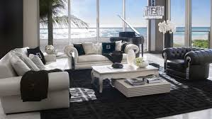 Fendi Living Room Furniture by Global Luxury London Interior Design