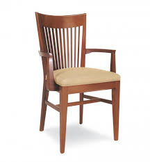 Restaurant Armchairs Wood Chairs For Commercial Spaces