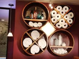 Unique Storage Towel Storage Ideas With Unique Round Storage Decolover Net