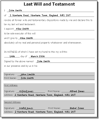 draft will template 28 images free resume templates florida