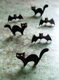 Halloween Paper Crafts by Halloween Craft Menagerie Free Cute Cats Owls U0026 Bats