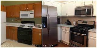 painting kitchen cabinets espresso before and after