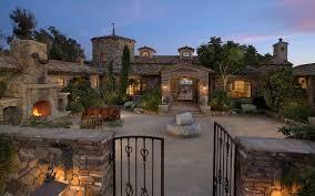 houses tuscany farmhouse beautiful stone gate hd wallpapers