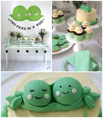 two peas in a pod baby shower babies and baby shower themes