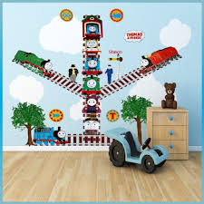 Thomas And Friends Decorations For Bedroom Thomas The Tank Engine Wall Stickers Decor Decal Art For Kids