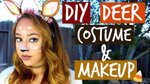 deer costume diy deer costume makeup maddie ryles