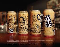 giant alcoholic drink pabst brewing company colt 45 malt liquor giant dj beverage can
