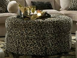 Animal Print Storage Ottoman Animal Print Ottomans Cool Animal Print Storage Ottoman With