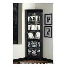 Curio Cabinet With Glass Doors Corner Glass Door Cabinet Corner Glass Display Cabinets With Door